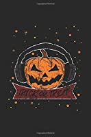 """Pumpkin Trick Or Treat: Blank Lined Notebook (6"""" x 9"""" - 120 pages) ~ Halloween Themed Notebook for Gift / Daily Activity Journals / Diary"""