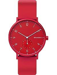 [スカーゲン] 腕時計 AAREN SKW6512 正規輸入品 レッド