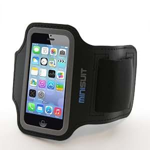 iPhone 5/5S iPod touch 5 iPod touch 6 専用 ネオプリーン素材 アームバンド MiniSuit