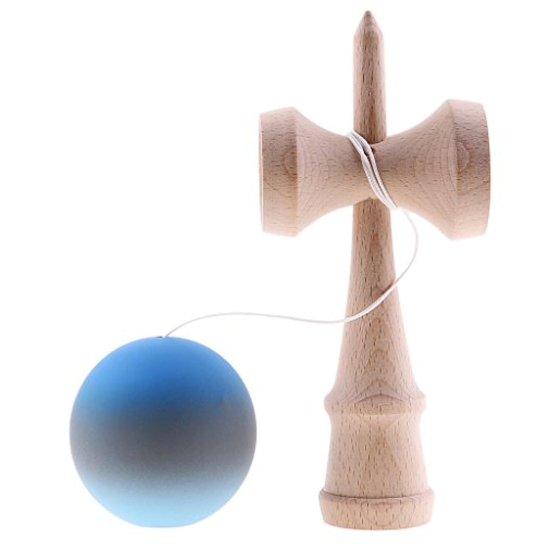 KOZEEY 5色選べる 玩具 剣玉 競技練習用 木製 けん玉 日本 伝統 ゲーム  反応能力育成   - #3