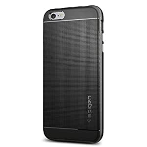 【Spigen】 iPhone6s Plus ケース / iPhone6 Plus ケース, ネオ・ハイブリッド [ 米軍MIL規格取得 二重構造 スリム フィット ] アイフォン6s プラス / 6 プラス 用 カバー (ガンメタル SGP11663) …