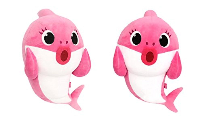 PINK FONG(ピンクポン/ピンクフォン) BABY SHARK(ちびザメ) サメのかぞく サウンド ぬいぐるみ パパザメ ★★Kstargate限定★★