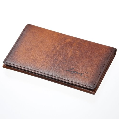 LuggageAOKI 青木鞄 Lugard G3 ラガード ジースリー カードケース 名刺入れ 日本製 本革 ブラウン 5203-50