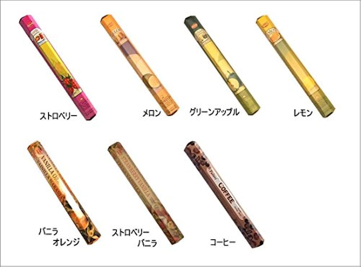 火炎キノコ変数HEM(ヘム)お香:グリーンアップル スティックお香/インセンス/1箱