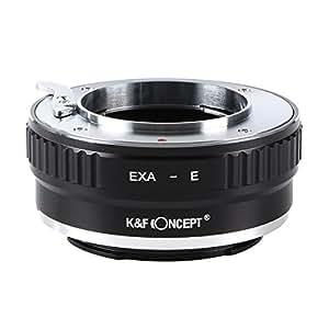 K&F Concept レンズマウントアダプター KF-EXAE (エキザクタマウントレンズ → ソニーEマウント変換)