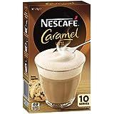 NESCAFÉ Caramel Latte Coffee Sachets 10 Pack