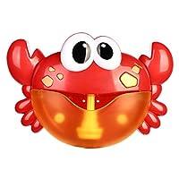 スーパーバブルマシーン 子供 カニ玩具 お風呂 シャボン玉製造機電動式 動物12音楽付き バスルーム プール アウトドア 泡 入浴