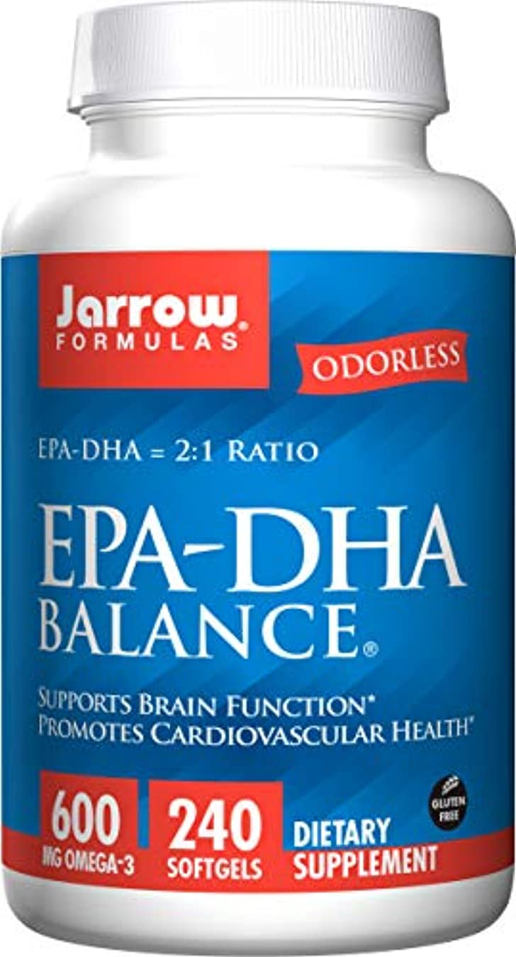 華氏細断インタネットを見る海外直送品Jarrow Formulas Epa-dha Balance, 240 Sftgels