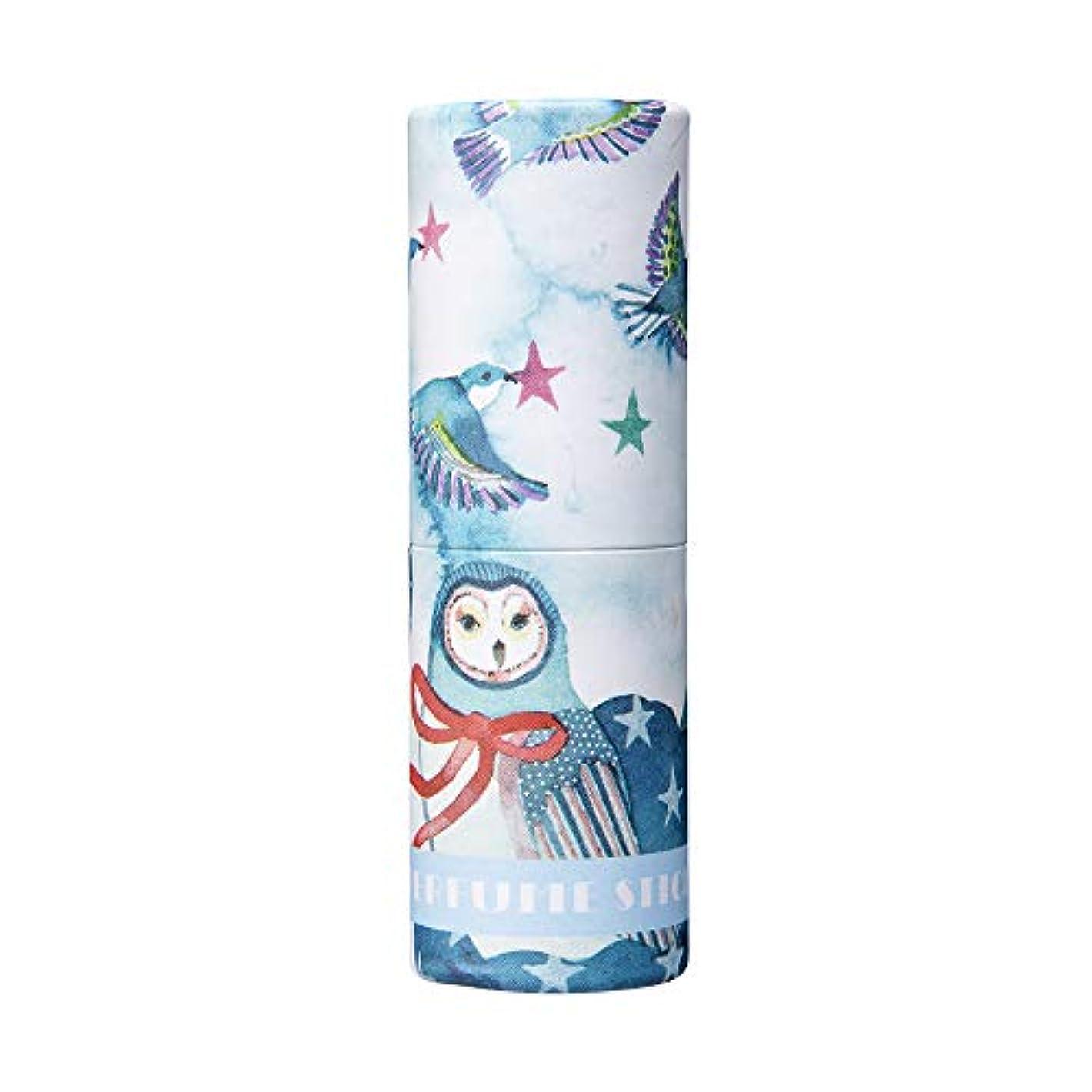 虹道路ブームパフュームスティック ウィッシュ ホワイトフラワー&シャボンの香り CatoFriendデザイン 5g