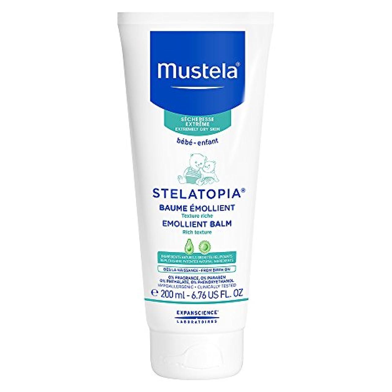 まで田舎九月Mustela - Stelatopia Emollient Balm (6.76 oz.)