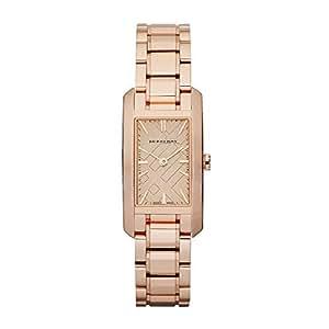 バーバリー Burberry Rose Gold Engraved Ladies Watch BU9502 女性 レディース 腕時計 【並行輸入品】