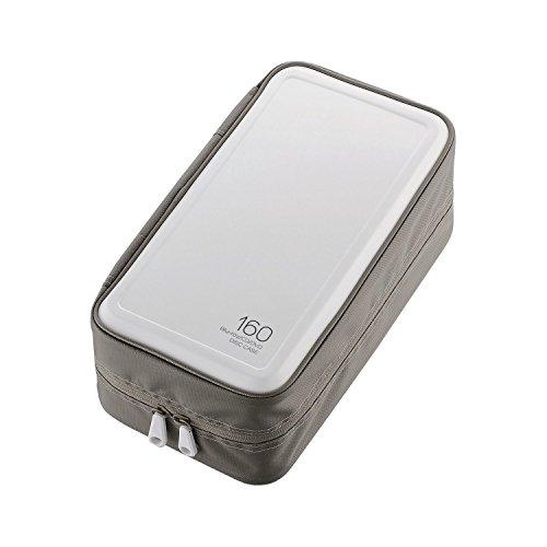 Blu-ray/CD/DVD対応ファスナーケース 160枚収納 CCD-HB160