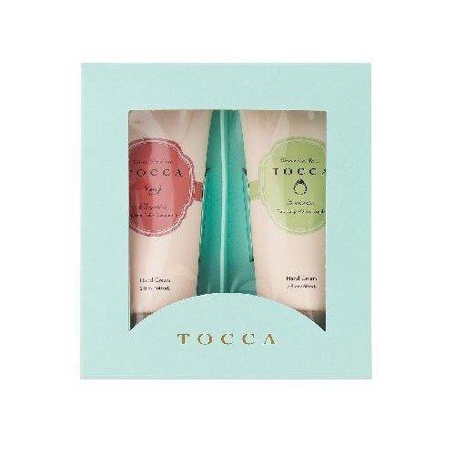 トッカ(TOCCA) ハンドクリームBOXギフト 60ml×2本 (クレオパトラ & ジュリエッタ 箱入りギフト)