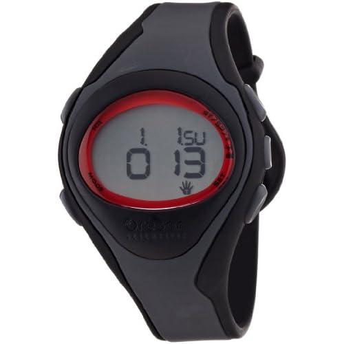 [オレゴン]Oregon 腕時計 エントリーモデル タッチパネル機能搭載 デジタル心拍計 チェストベルト付き レッド SE102N メンズ 【正規輸入品】