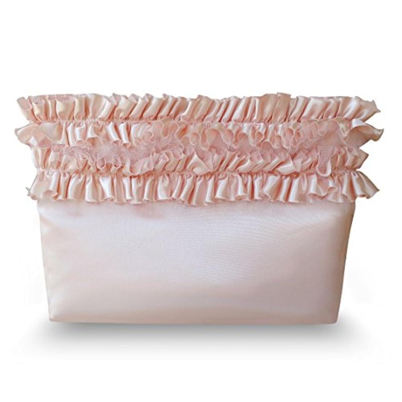 干渉防止溶融化粧ポーチ コスメポーチ インナーポーチ 小物入れポーチ 可愛いポーチ 日本製 ジュリエットレースポーチ