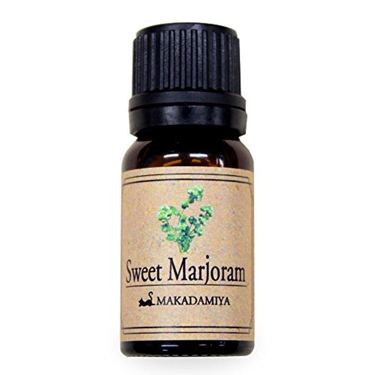 の頭の上引っ張る地上でスイートマージョラム10ml 天然100%植物性 エッセンシャルオイル(精油) アロマオイル アロママッサージ aroma Sweet M.