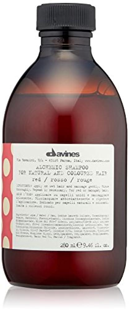 粘着性牛肉雰囲気ダヴィネス アルケミック シャンプーレッド (地毛が赤毛の方、赤毛に染めている方用) 280ml/9.46oz並行輸入品