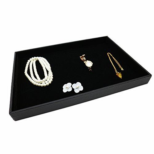 [해외]kakiyama (카키야마) 보석 디스플레이 쇼케이스 트레이 플랫 타입 벨로아 원단/kakiyama (Kakiyama) Jewelry display showcase tray flat type velor fabric
