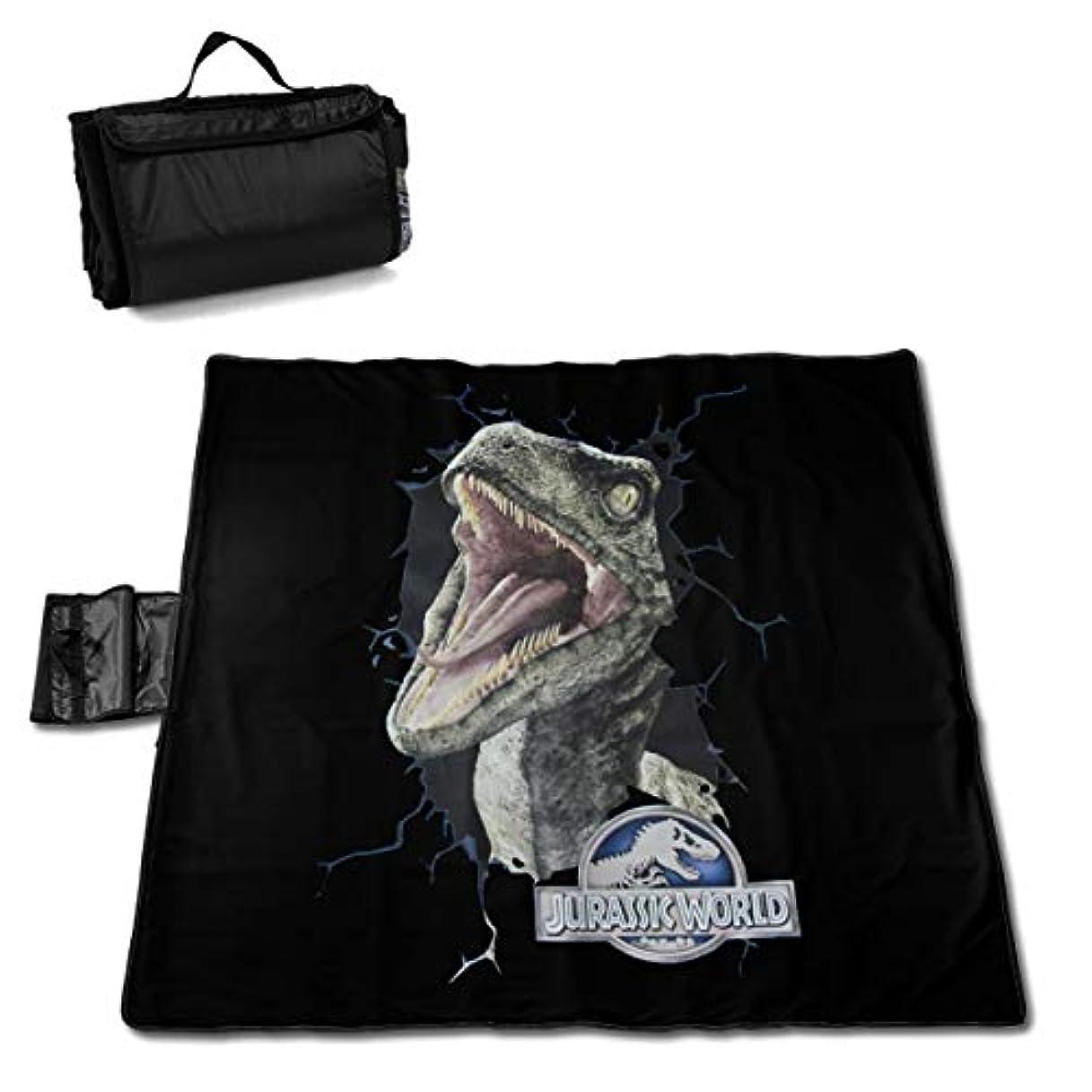 イタリアの乱闘ブレーキジュラシックワールド Jurassic World Raptor ピクニックマット レジャーシート ファミリー レジャーマット 折りたたみ クッション 持ち運び おしゃれ 花火大会 運動会 遠足 キャンプ 145×150cm 2-6人用