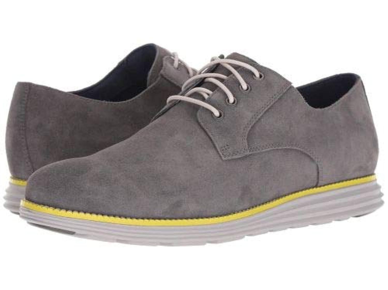 Cole Haan(コールハーン) メンズ 男性用 シューズ 靴 オックスフォード 紳士靴 通勤靴 Original Grand Plain Toe - Magnet Suede/Vapor Grey/Sulphur Spring...