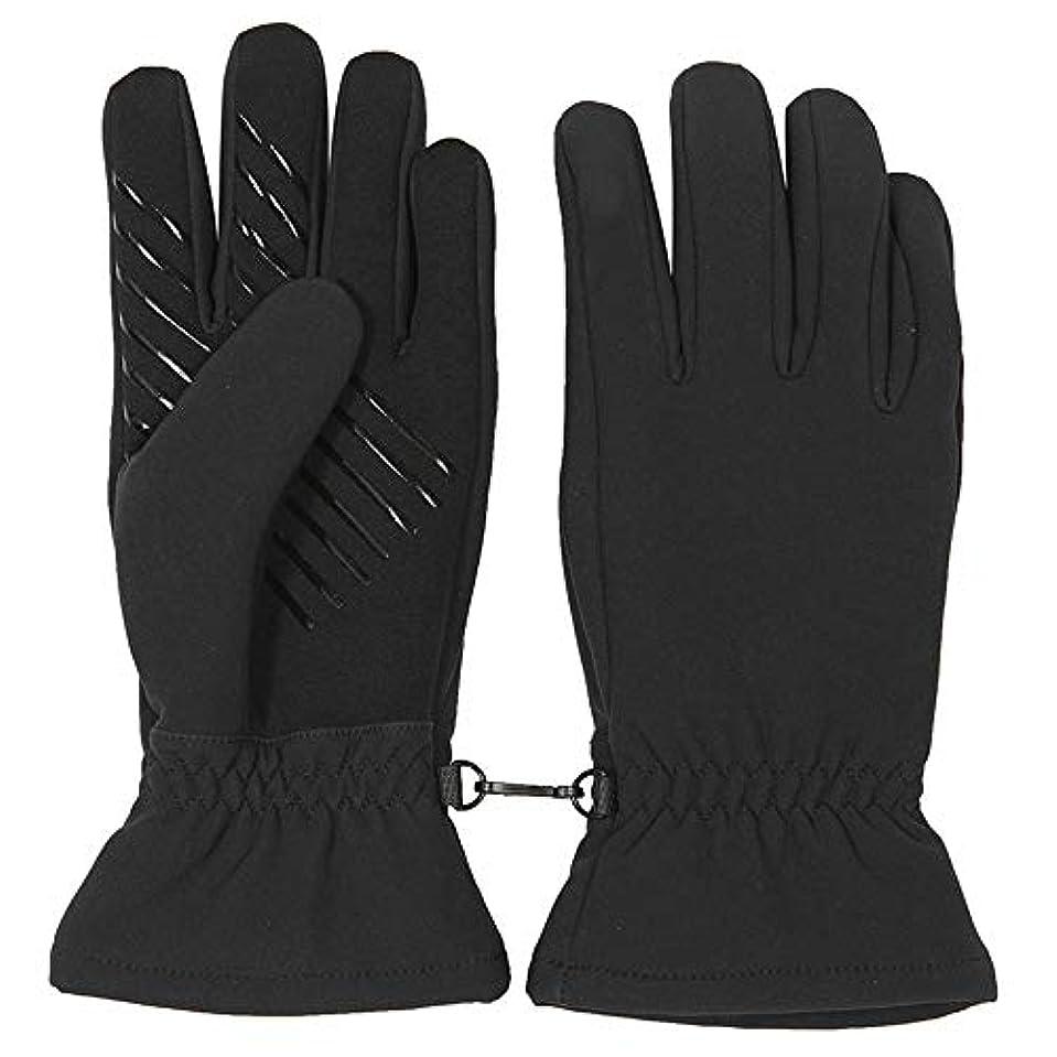 入射壊すめる秋と冬の屋外メンズ耐摩耗ノンスリップ暖かいフリース手袋