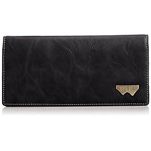 [エドウィン] 長財布 グレイン合皮 Wメタル 12289937 60.ブラック