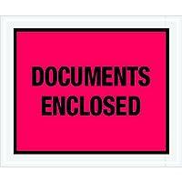 Tape Logic TLPL437 Documents Enclosed Envelopes 10 x 12 Red (Pack of 500) [並行輸入品]