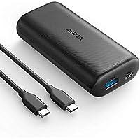Anker PowerCore 10000 PD(10000mAh PD対応最小最軽量 大容量 モバイルバッテリー)【PSE認証済/Power Delivery対応/USB-C入出力ポート/PowerIQ搭載/低電流モード搭載】iPhone&Android対応