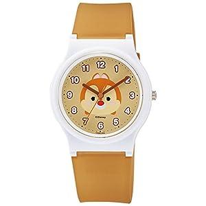 [シチズン キューアンドキュー]CITIZEN Q&Q 腕時計 Disney コレクション 『 TSUMTSUM 』 『 デール 』 ウレタンベルト ブラウン HW00-006 ガールズ