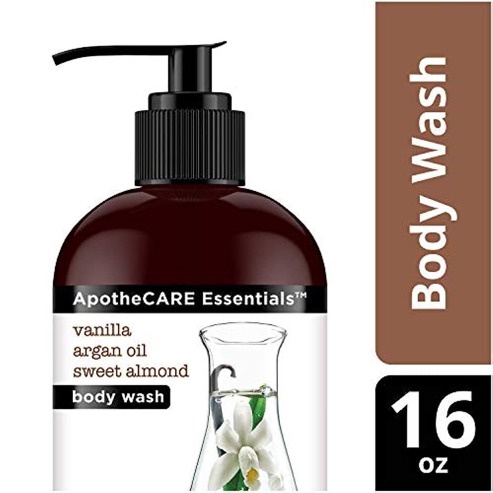 倍増永続制限Body Wash, Vanilla, Argan Oil, Sweet Almond, 16 oz 473 ml