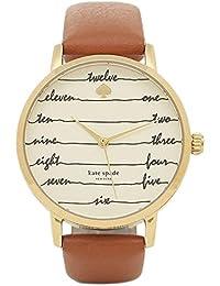 [ケイトスペード] 腕時計 レディース KATE SPADE KSW1237 ゴールド ブラウン [並行輸入品]