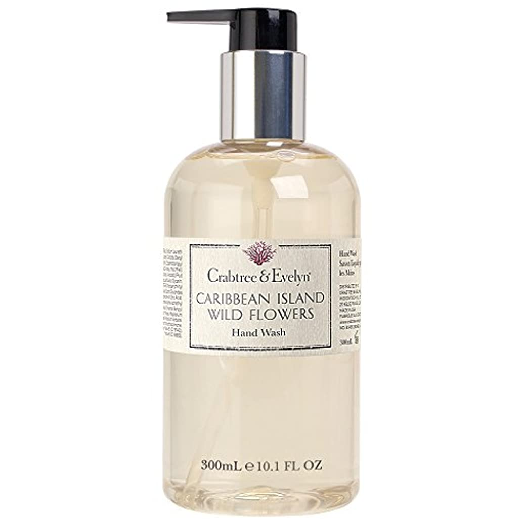 叫ぶクスクスクラウンクラブツリー&イヴリンカリブ海の島ハンドウォッシュ300ミリリットル (Crabtree & Evelyn) (x6) - Crabtree & Evelyn Caribbean Island Hand Wash 300ml...