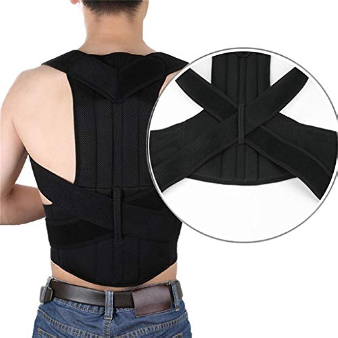 背部サポート姿勢の装具 - 鋼板の背部訂正ベルトが付いている反こぶの背部のため