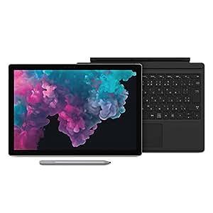 【Microsoft ストア限定】3点セット:Surface Pro 6 (プラチナ) + 専用 タイプ カバー (ブラック) + 専用 ペン (プラチナ) - M2W-00010 (i5 / 256GB / 8GB)