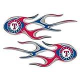 "Texas Rangers 2"" x 5"" Micro炎デカール"