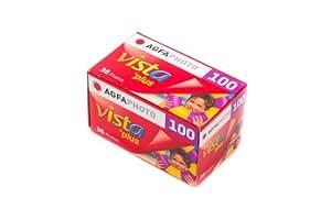 AGFAPHOTO VISTA100 36 カラーネガフィルム ISO100 36枚撮 AP100-36