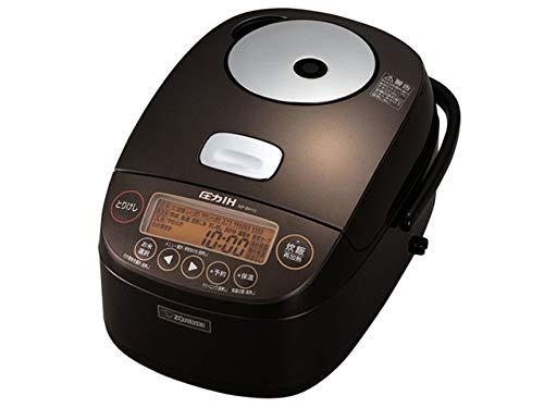 象印 圧力IH炊飯ジャー 茶 NP-BH10-TA 5.5合炊き 炊飯器