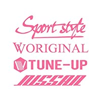 Sport style mix ニッサン カッティング ステッカー ピンク 桃