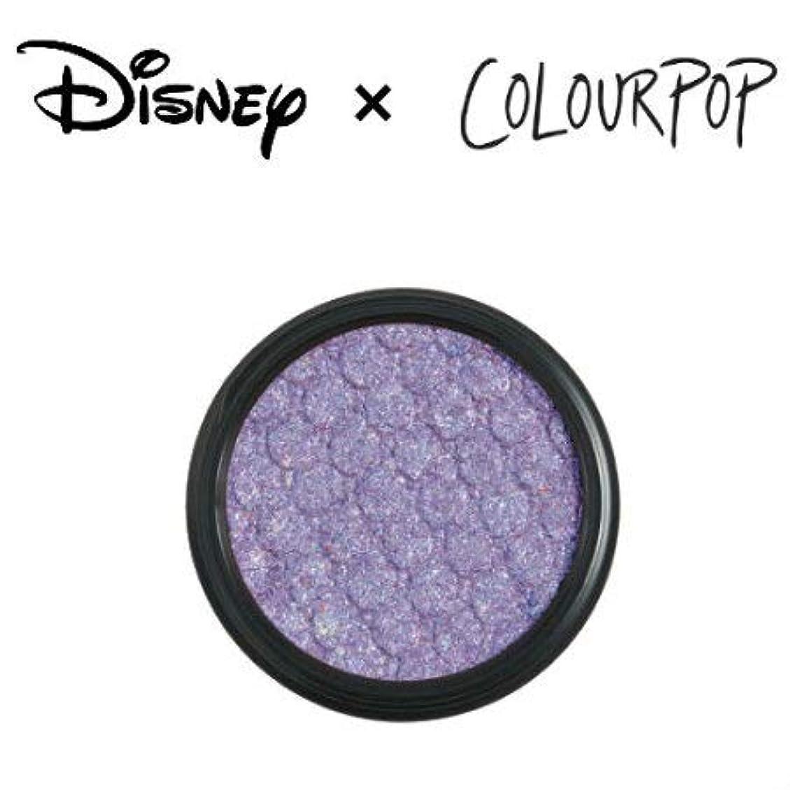チューブ回転させる時代カラーポップ COLOURPOP x DISNEY ディズニー プリンセス アイシャドウ A WHOLE NEW WORLD(アイシーラベンダー)