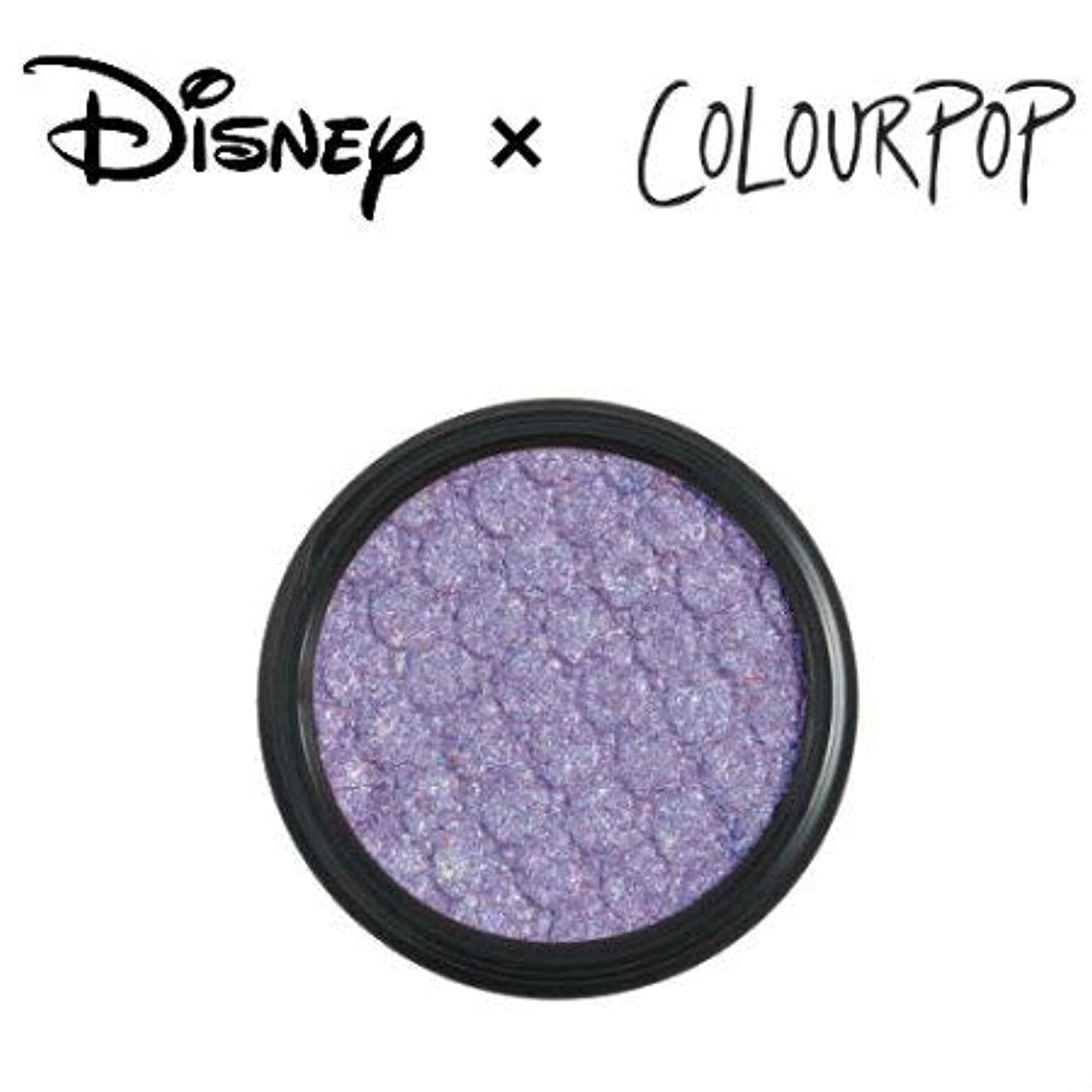 職業代わりの同一性カラーポップ COLOURPOP x DISNEY ディズニー プリンセス アイシャドウ A WHOLE NEW WORLD(アイシーラベンダー)