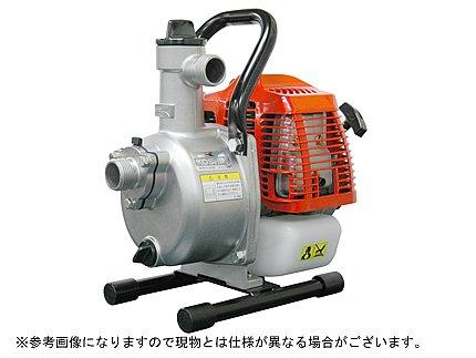 工進 2サイクルエンジン式 ハイデルスポンプ KM-25S スタート名人 【三菱エンジンTU26搭載】 [その他]
