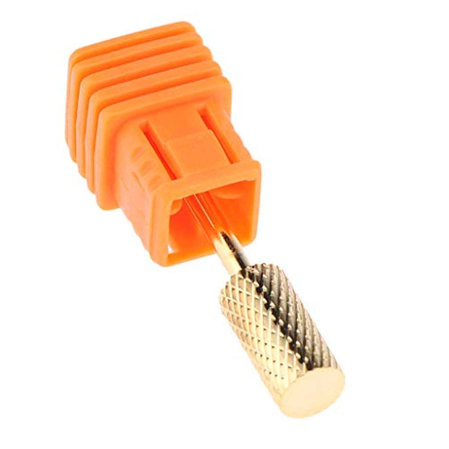 検出器回転させる印象的ネイルドリルビット ネイルビット ネイルチップ 耐久性 ネイル道具 6スタイル選べ - C