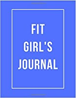 Fit Girl's Journal: 47 Week Workout&Diet Journal For Women | Blue Workout/Fitness and/or Nutrition Journal/Planners | 100 Pages | Happy Planner Wellness Journal | Diet and Exercise Journal for Women | Food and Exercise Journal 2020 | Diet Planner for