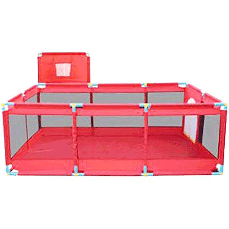 ベビーサークル ポータブルベビープレイペン - 室内子供の赤いゲームのフェンス、新しいスタイルの安全なプレイヤード、簡単に組み立てて、ホームプレイグラウンドを分解する (サイズ さいず : Style 4)