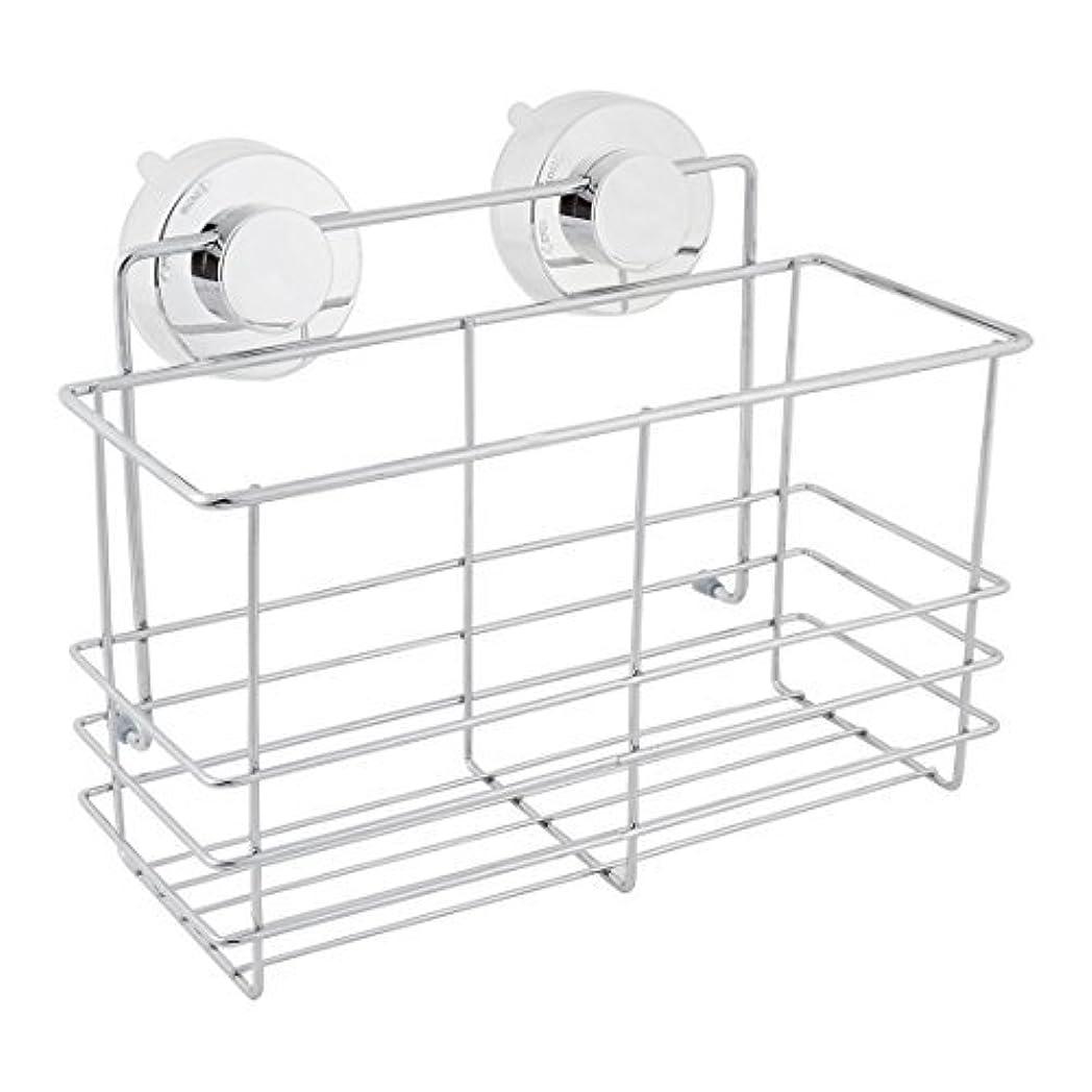 プレビュー圧縮されたマイクDealMux浴室スペースセーバーサクションカップのストレージシェルフホルダーラックオーガナイザー