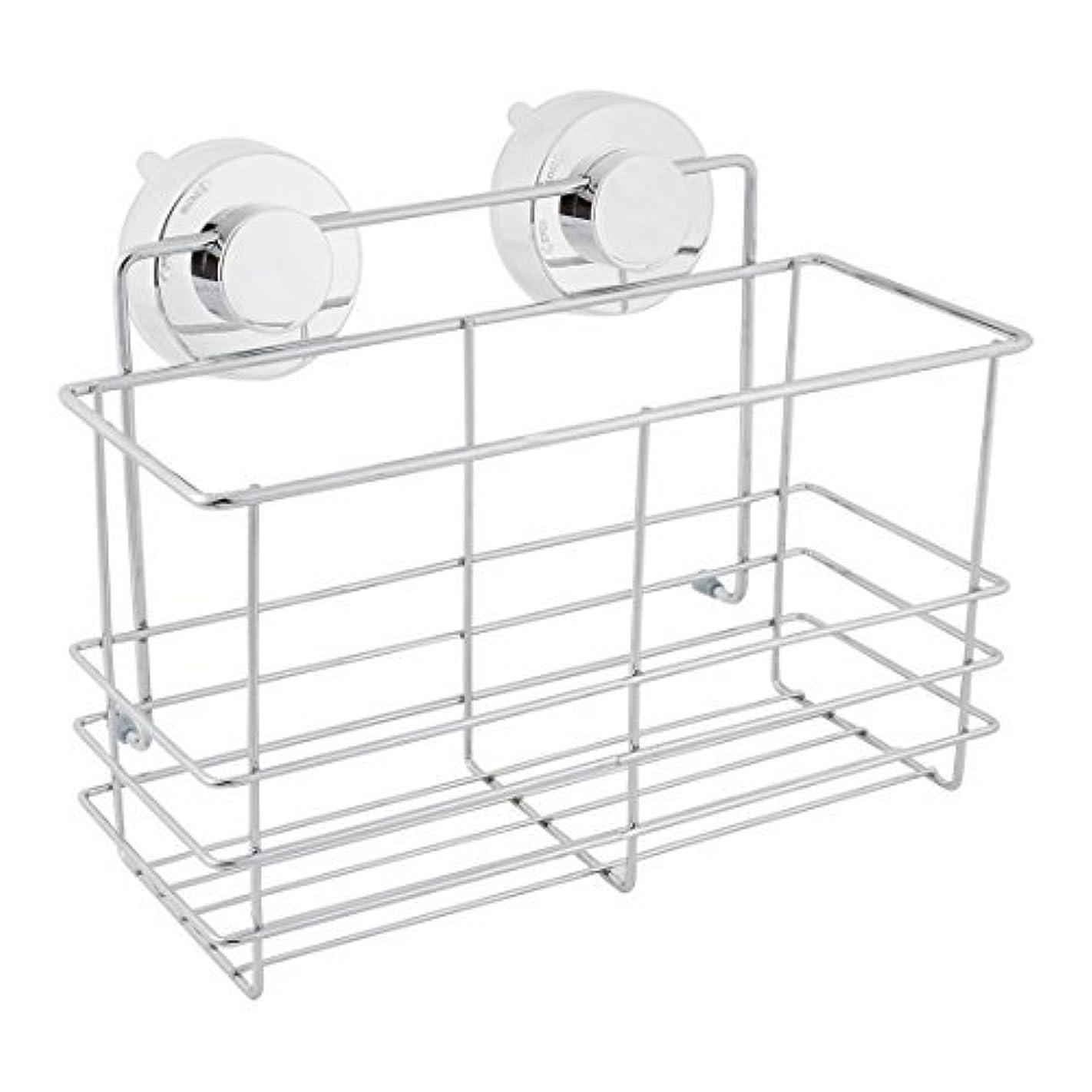 クローン味わうパン屋DealMux浴室スペースセーバーサクションカップのストレージシェルフホルダーラックオーガナイザー