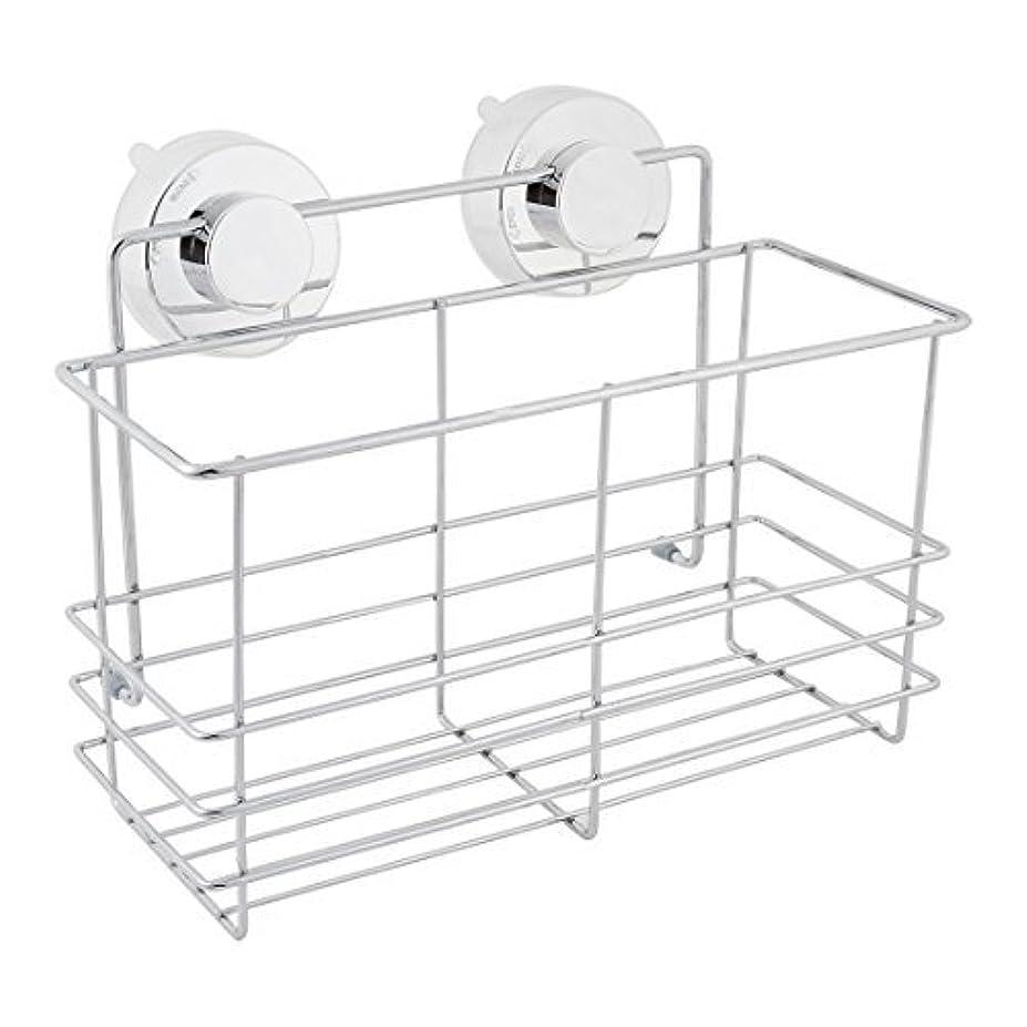 ソフィーどこ熟すDealMux浴室スペースセーバーサクションカップのストレージシェルフホルダーラックオーガナイザー