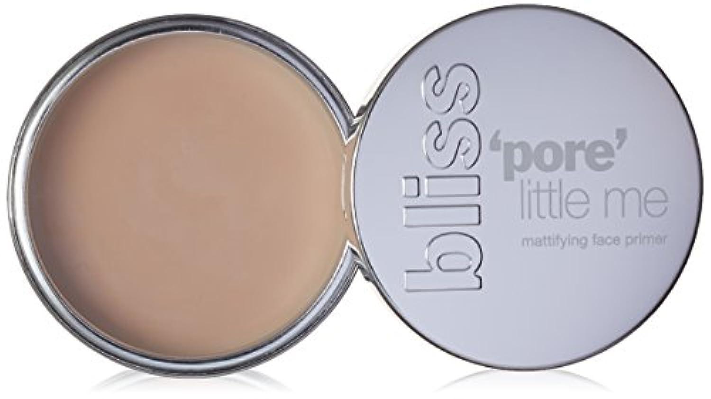 破滅的な処理太字ブリス 'Pore' Little Me Mattifying Face Primer 14g/0.5oz並行輸入品
