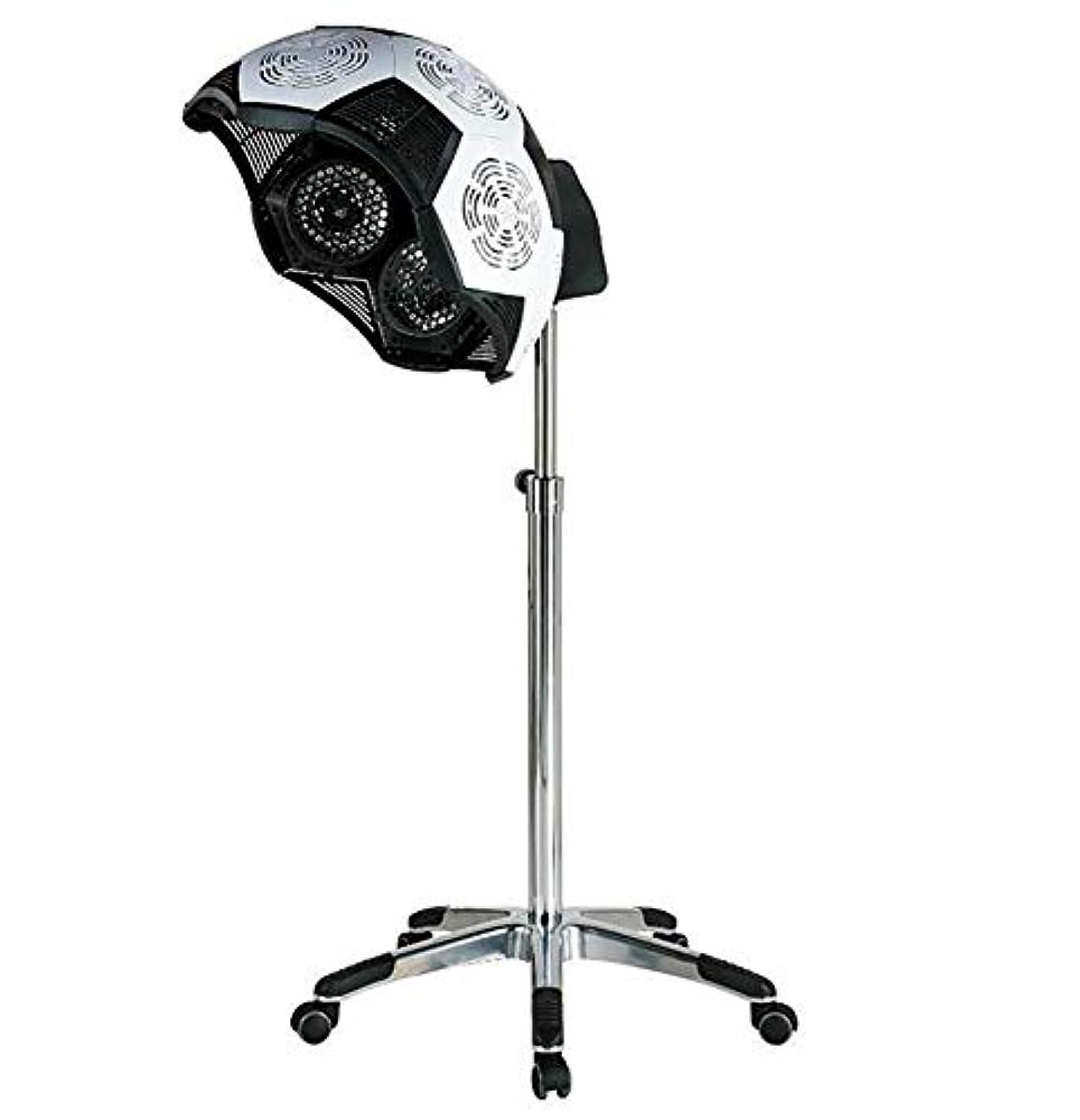 概してズボンコートHIZLJJ 調節可能なフードフロアスタンドボンネットヘアドライヤーローリングホイールは、ホームサロンヘアドライヤー美容機器のためのサロンヘアドライヤープロフェッショナルを立ち上げます