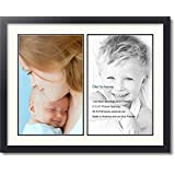 Art to Frames Double-Multimat-1417-824/89-FRBW26079 Collage Photo Frame Double Mat with 2-11x17 Openings and Satin Black Frame